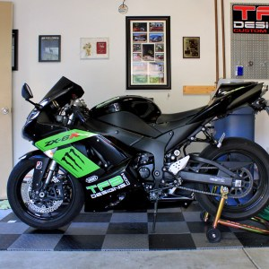Full Graphics Kit Decals for 2007-2008 Kawasaki Ninja ZX-6R ZX6R