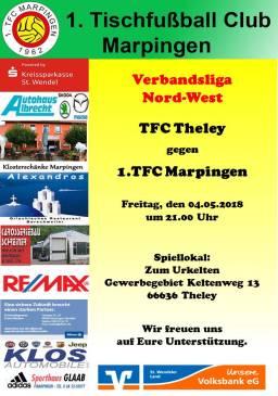 Verbandsliga Nord-West: TFC Theley - 1.TFC Marpingen @ Zum Urkelten | Tholey | Saarland | Deutschland