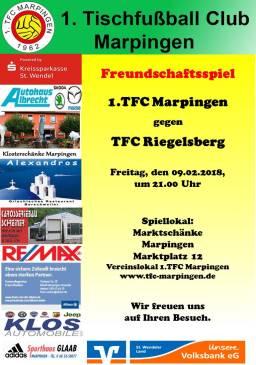 1.TFC Marpingen - TFC Riegelsberg @ Marktschänke | Marpingen | Saarland | Deutschland