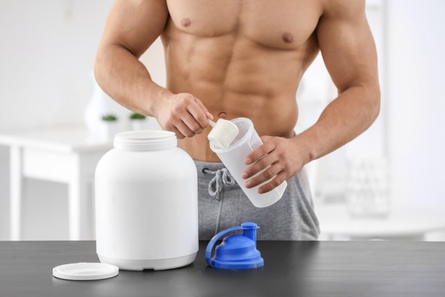 build muscle protein