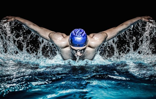 Swimming to Burn body Fat