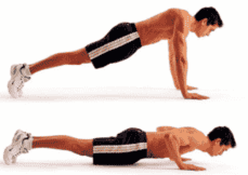 push ups chest exercises without exercises