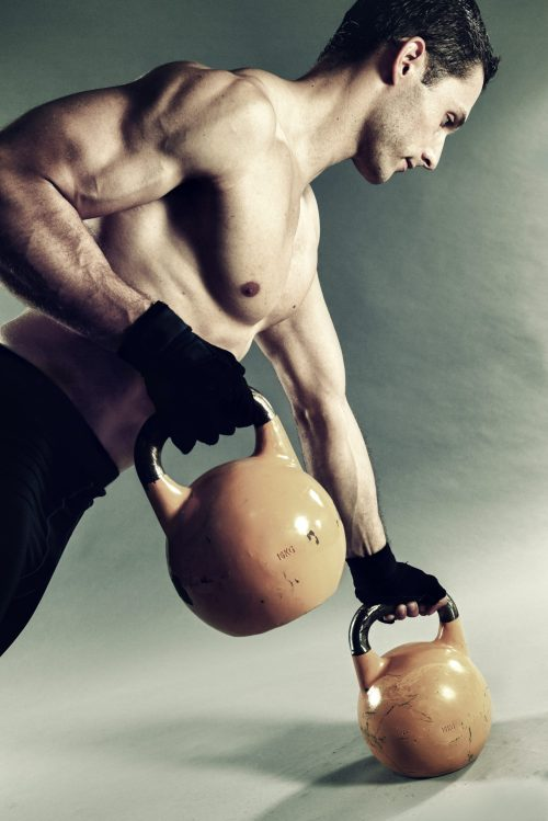 lose weight with kettlebell