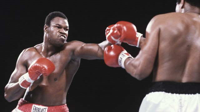 Larry Holmes Boxing