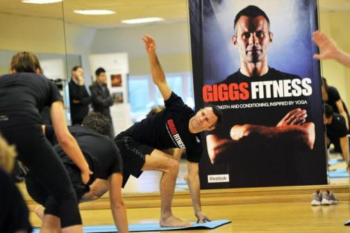 Ryan-Giggs-Doing-Yoga