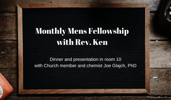 Monthly Mens Fellowship-November