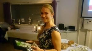 Marit Buhaug Folstad med pris