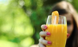 orange juice girl
