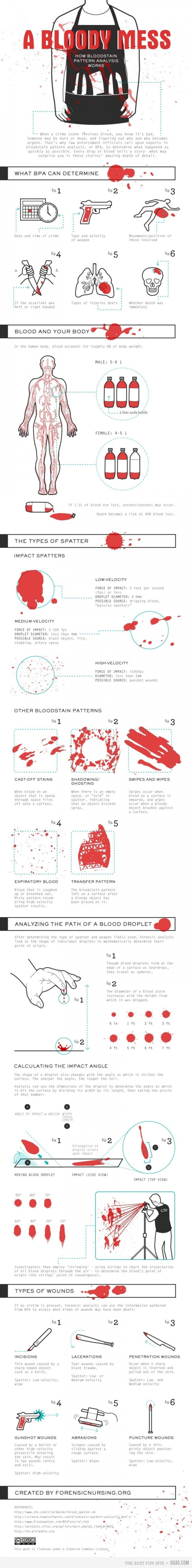 How Bloodstain Pattern Analysis Works