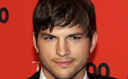 Ashton Kutcher red