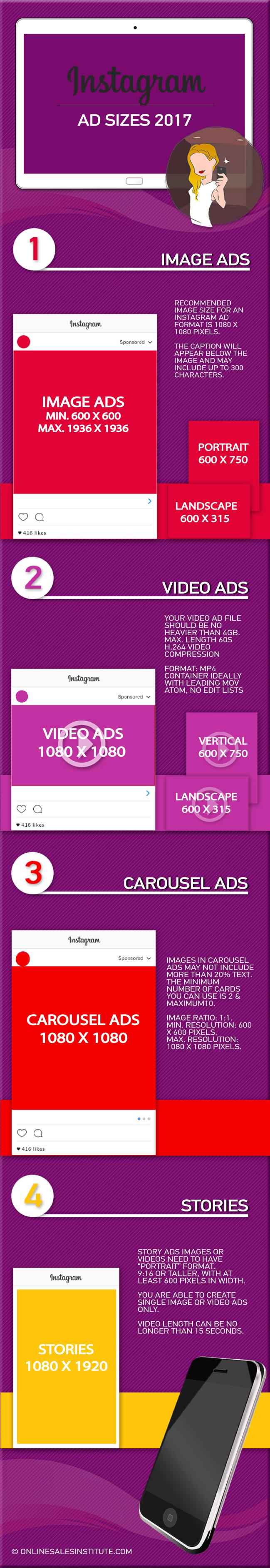 Instagram Ad Sizes 2017