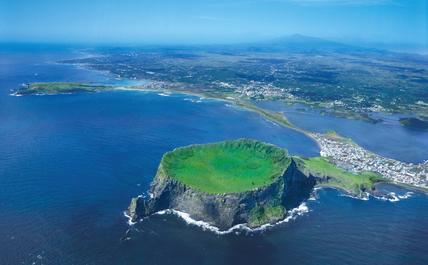 Jeju Island volcano
