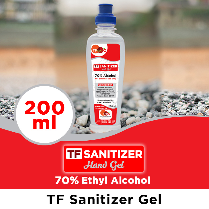 TF Sanitizers_Gel 200ml_TFHOGhana_web