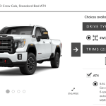 2020 Gmc Sierra Hd Online Configurator Is Live At4 And Denali Only Check Out The Options The Fast Lane Truck