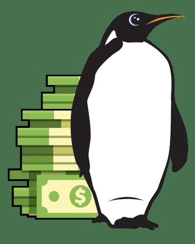 savemoney penguin