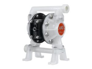 "Aro¨ PE07P-BPS-PTT-AS0 Compact Series 3/4"" Diaphragm Pump With Polypropylene Centre Section & Body (Polypropylene Seats"