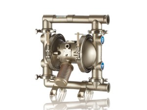 """Graco¨ FD8222 Saniforce¨ 2"""" Diaphragm Pump With Stainless Steel Centre Section and Sanitary Stainless Steel Body (Stainless Steel Seats"""