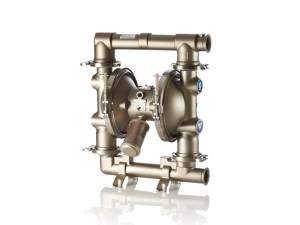 """Graco¨ FD9111 Saniforce¨ 2150T (2 1/2"""") Diaphragm Pump With Stainless Steel Centre Section & Body (Stainless Steel Seats"""