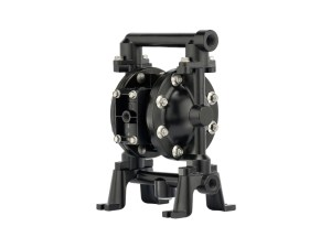 "Aro¨ PE05R-BAS-FTT-BDF Compact Series 1/2"" Diaphragm Pump With Conductive Polypropylene Centre Section and Aluminium Body (Aluminium Seats"