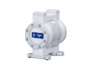 "Graco¨ Chemsafeª 515 1/2"" Overmolded PTFE/EPDM Air Diaphragm Pump - 24X426 - BSPT Thread"