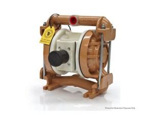 "Nomad 25-2798 Trans-Flo Gold 1"" Diaphragm Pump With Polypropylene Centre Section and Stainless Steel Body (Stainless Steel Seats"