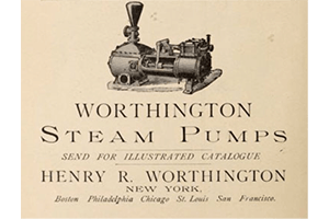 pump history in the 19th century