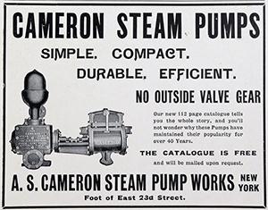 cameron steam pump works