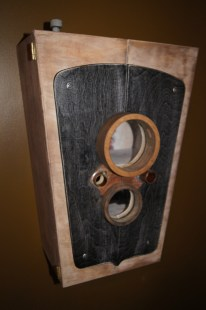 Camera Cabinet - side view