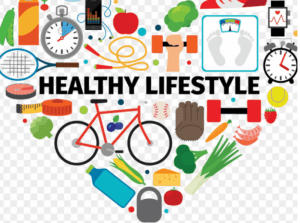 An image of Healthy lifestyle components