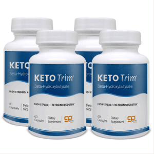 An image of four bottles of Keto Diet is a formula
