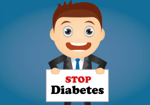 an illustration of stop diabetes campaign
