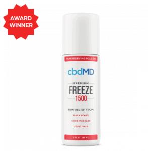 An image of CBD Freeze Pain Relief