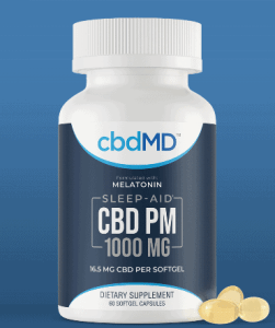 An image of PM Sleep Capsules - cbd for insomnia