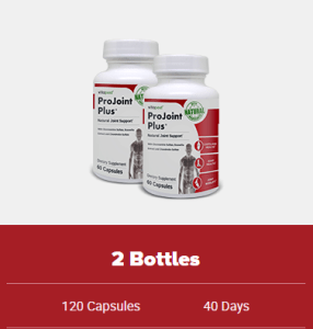 An image of 2 bottles of ProJoint Plus offer - Joint support supplements