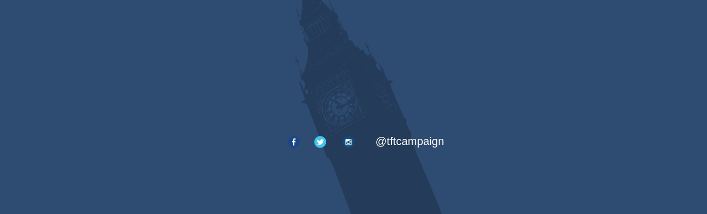Time for Truth Campaign Banner