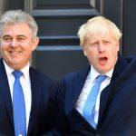 Brandon Lewis and Boris Johnson of the perfidious British Government