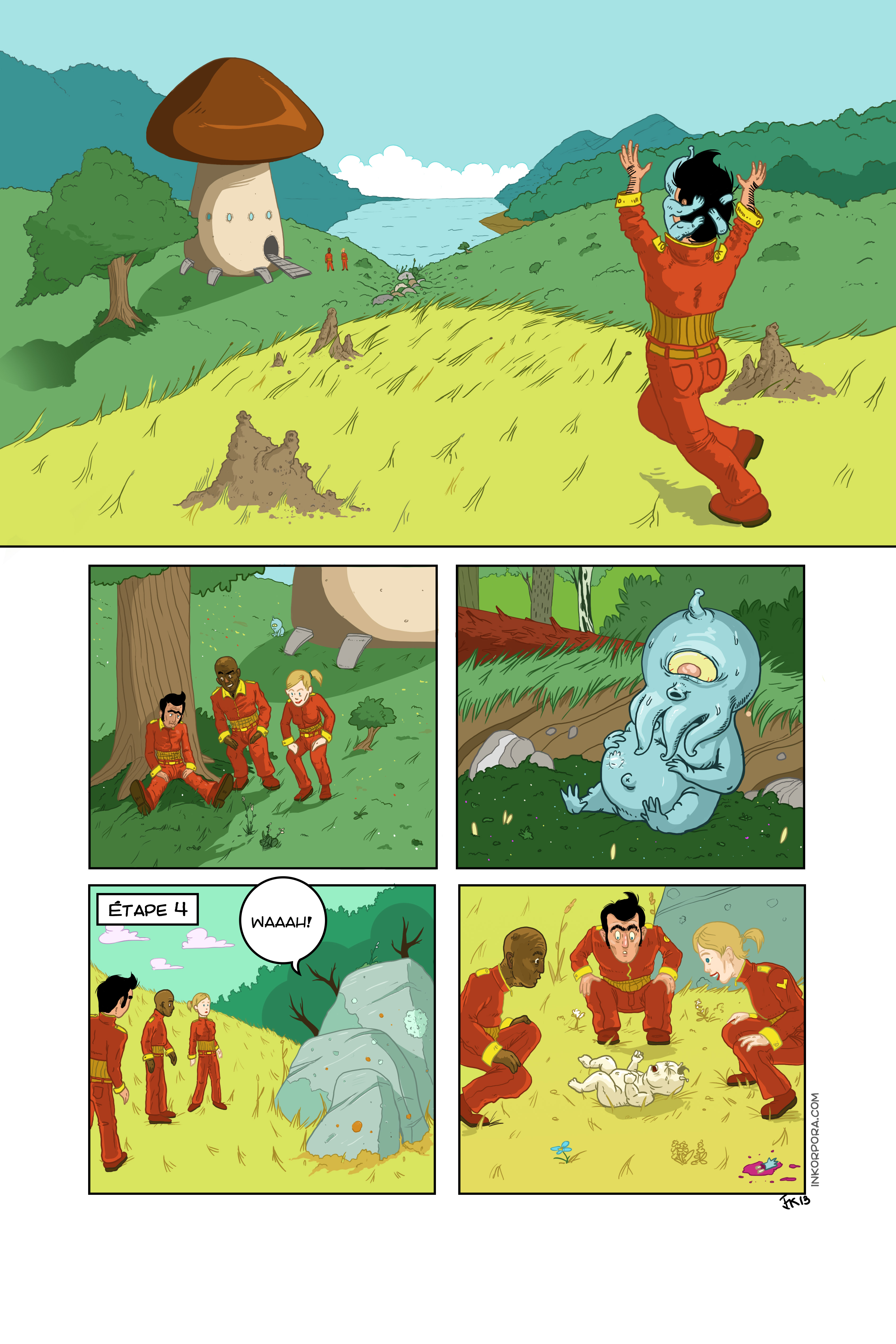 Ixian   Running   Page 9