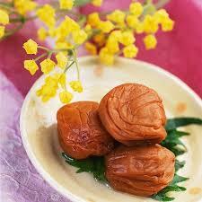 "Pickled plum ""Umeboshi"""