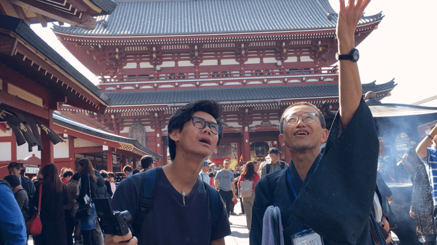 TOUR REPORT ON MAY 21 & 23, 2018 IN ASAKUSA