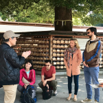 Tour Report on May.20,2018 – Meiji Shrine and Harajuku