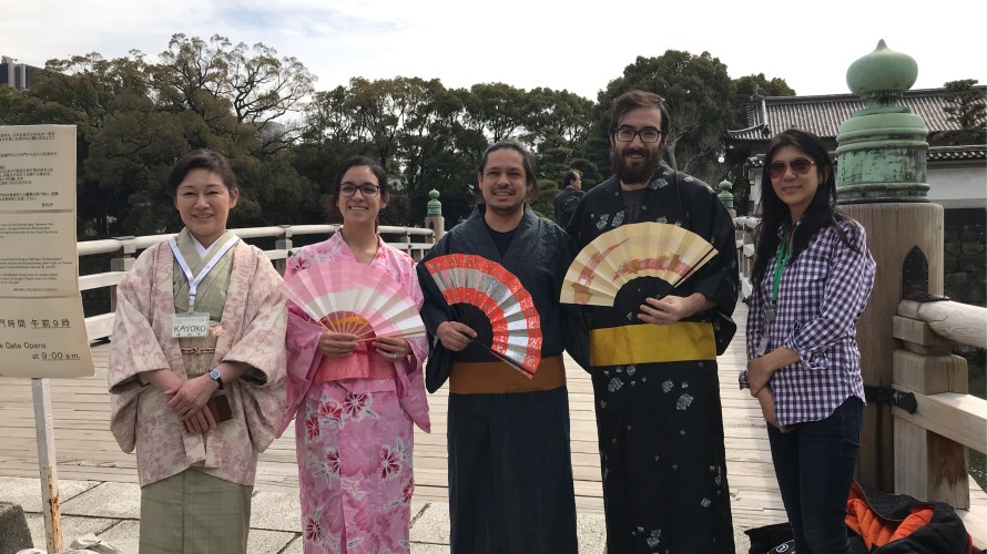 WEEKDAY TOUR OF THE EAST GARDENS OF THE IMPERIAL PALACE ON MARCH.19, 2019