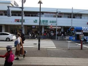 JR上野.