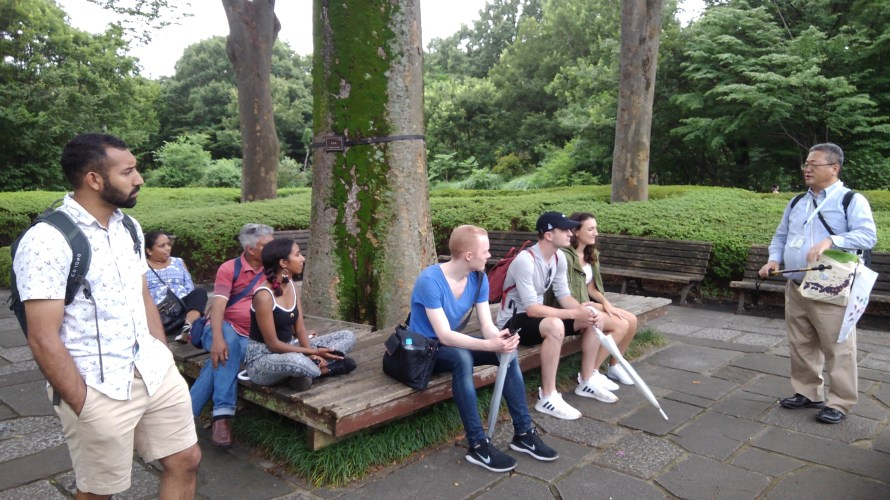 Tour Report on Jul. 6th (Tour of The East Garden of the Imperial Palace)