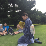 Tour Report on April 21, 2018, the East Gardens of the Imperial Palace.