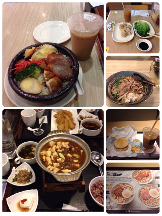 お食事 in 香港、台北。