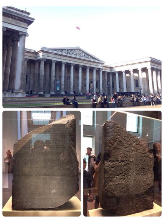 無料で入館出来るのが嬉しい、大英博物館。