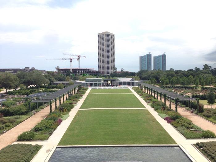 日本人も建設費用を負担、ヒューストンのハーマン・パーク。