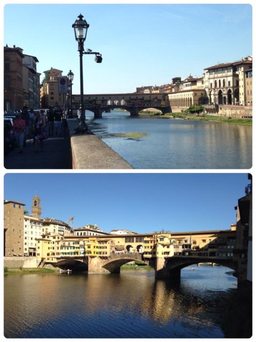 フィレンツェのヴェッキオ橋。