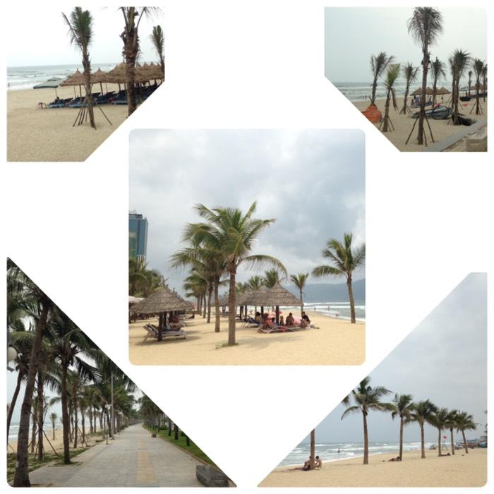 ダナンのミーケービーチ。