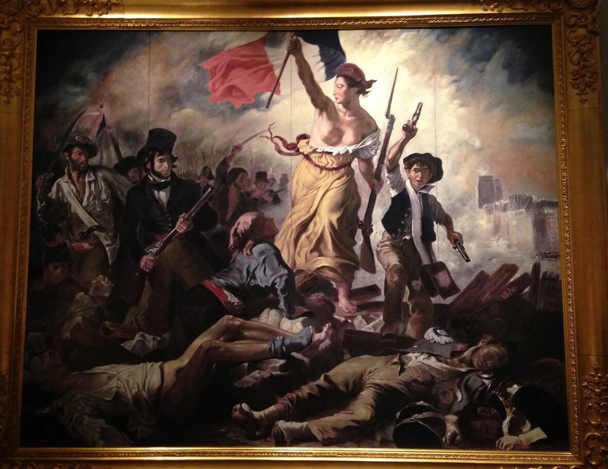 民衆を導く自由の女神
